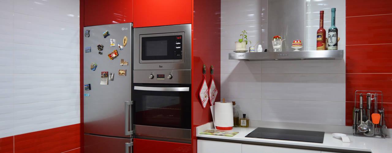 Кухни в . Автор – Estudio de Cocinas Musa