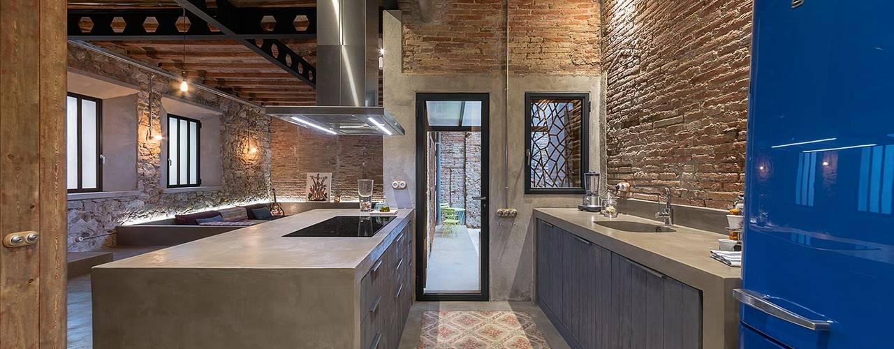 Cocinas de estilo  por N.A. Construcción