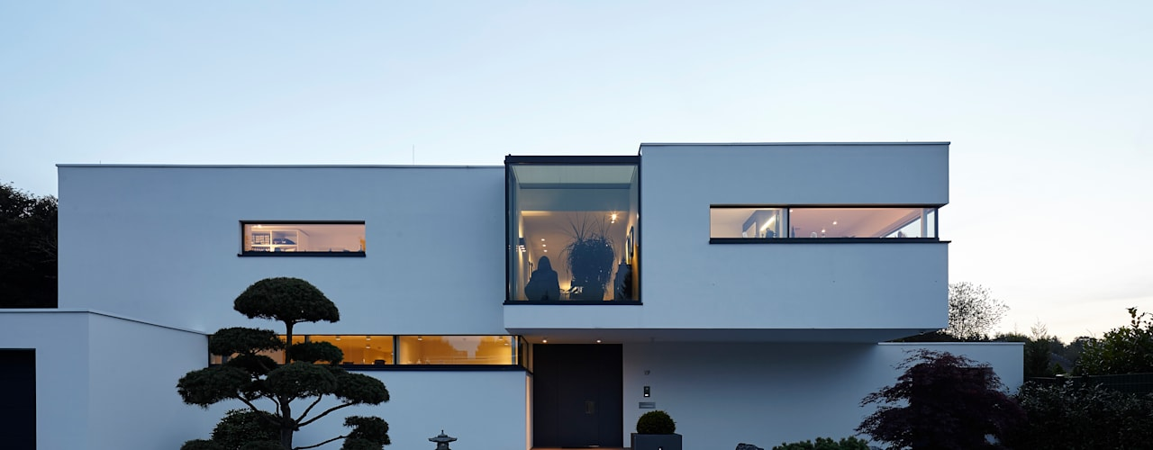 Villa S. Lioba Schneider Architekturfotografie Moderne Häuser