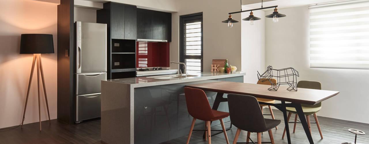 25 cocinas para departamentos peque os ideas s per pr cticas Cocinas americanas en espacios pequenos