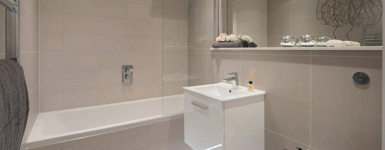 Ванные комнаты в . Автор – Jigsaw Interior Architecture , Модерн