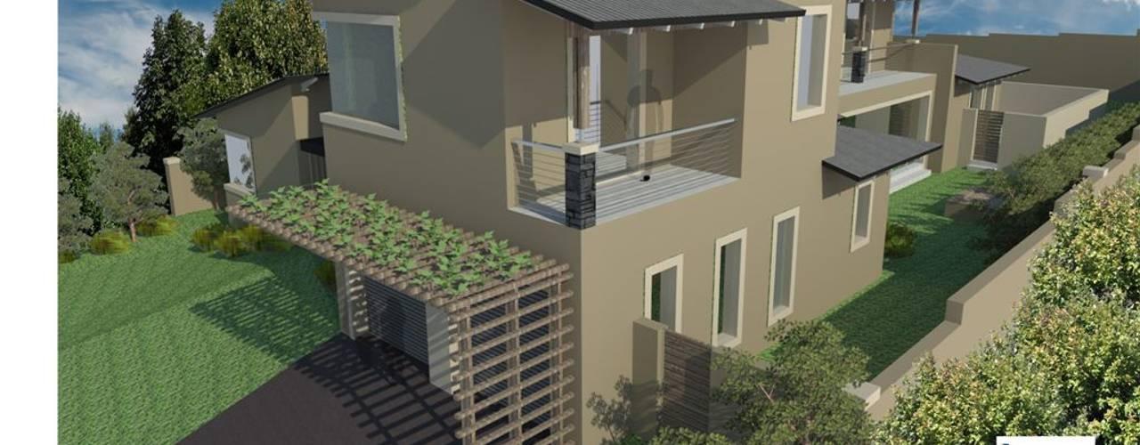 HOUSE RAMMUTLOA - Clara Anna Fontein Estate, New house 520sqm by BLUE SKY Architecture