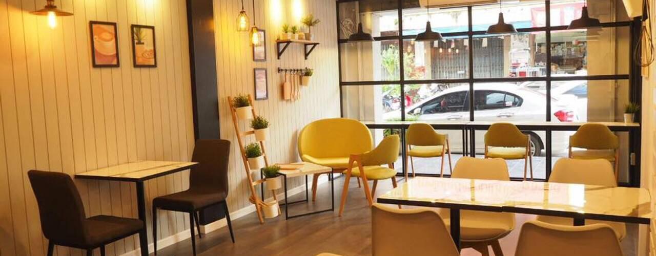 สริน Coffee & Bakery โดย box89 furniture ผสมผสาน