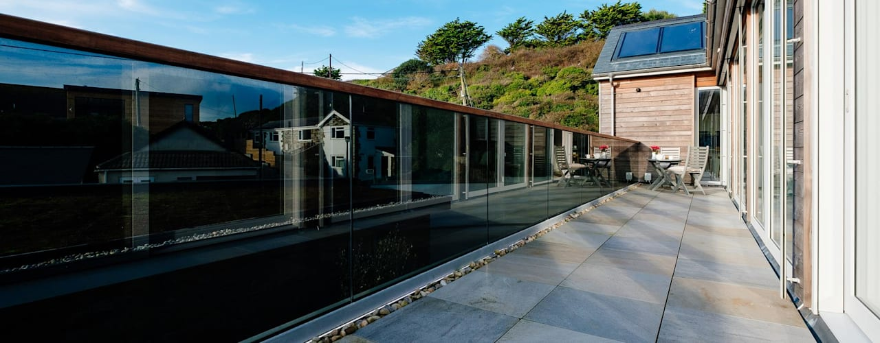 Treasure House, Polzeath | Cornwall Perfect Stays Casas de estilo moderno