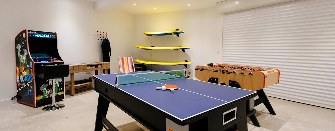 Treasure House, Polzeath | Cornwall Perfect Stays Dormitorios infantiles de estilo moderno
