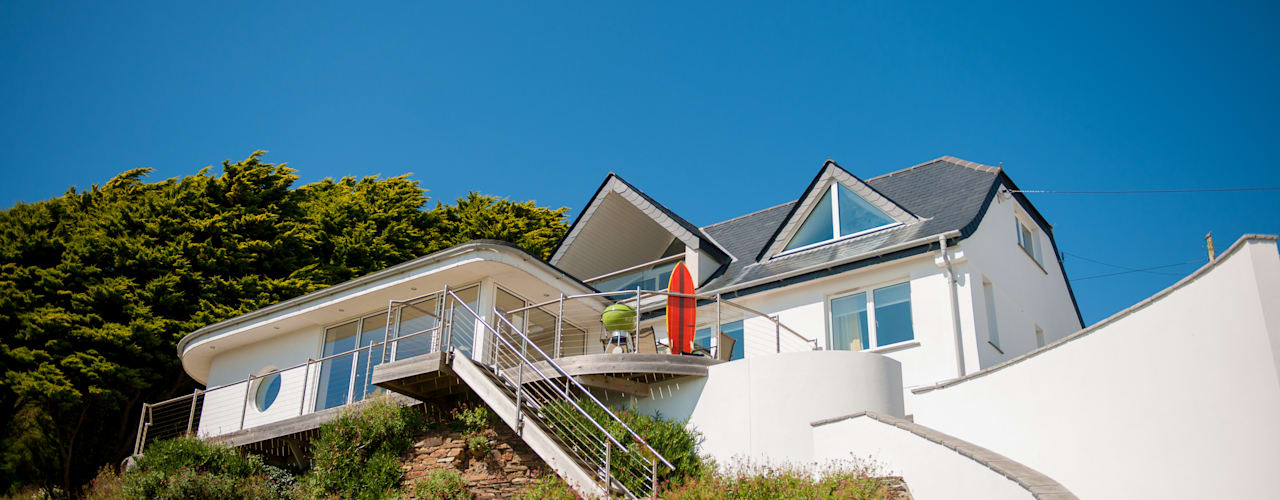 Headlands, Mawgan Porth | Cornwall Casas eclécticas de Perfect Stays Ecléctico