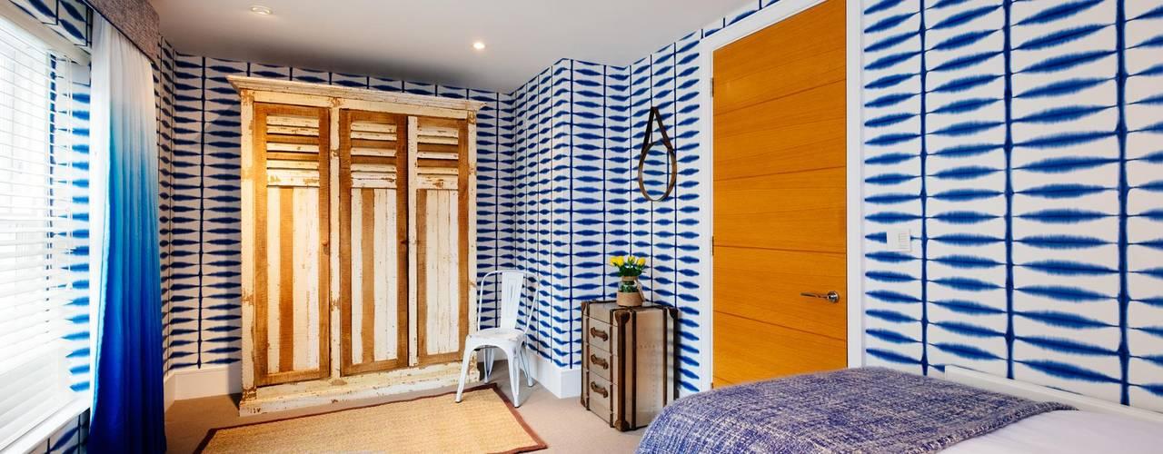 Blue Moorings, Dartmouth | Devon Habitaciones de estilo ecléctico de Perfect Stays Ecléctico