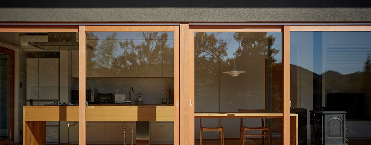 toki Architect design office 窗戶 木頭 Transparent