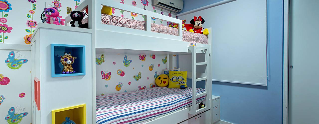 Quarto Bebê e Infantis Milla Holtz & Bruno Sgrillo Arquitetura Quarto infantil eclético Multi colorido