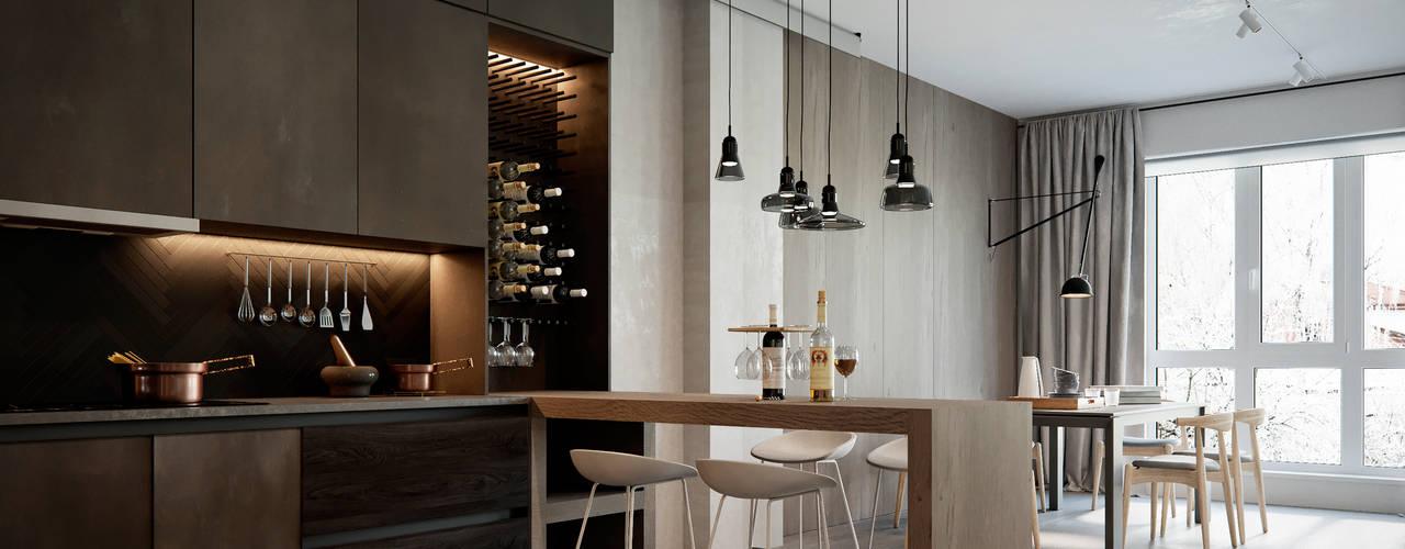 Modern kitchen by Polygon arch&des Modern