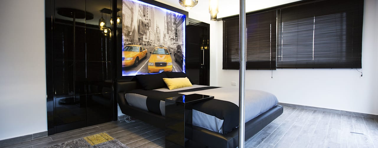 MODERN YATAK ODASI Modern Yatak Odası Fatma Gürçam İçmekan Tasarım ve Uygulama Modern