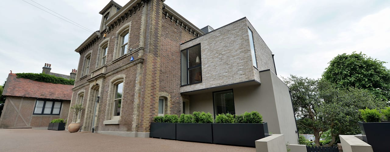 Rykehurst House, Lewes, East Sussex BBM Sustainable Design Limited Modern houses