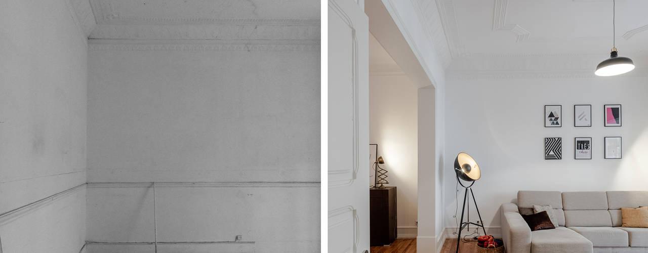 Woonkamer door FMO ARCHITECTURE