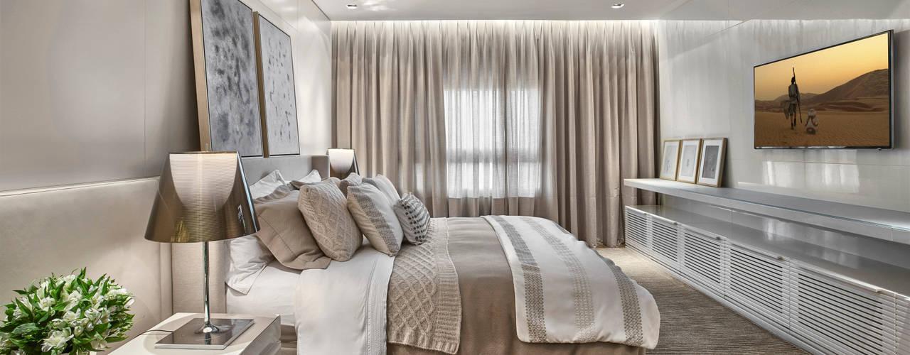 Bedroom by Alessandra Contigli Arquitetura e Interiores