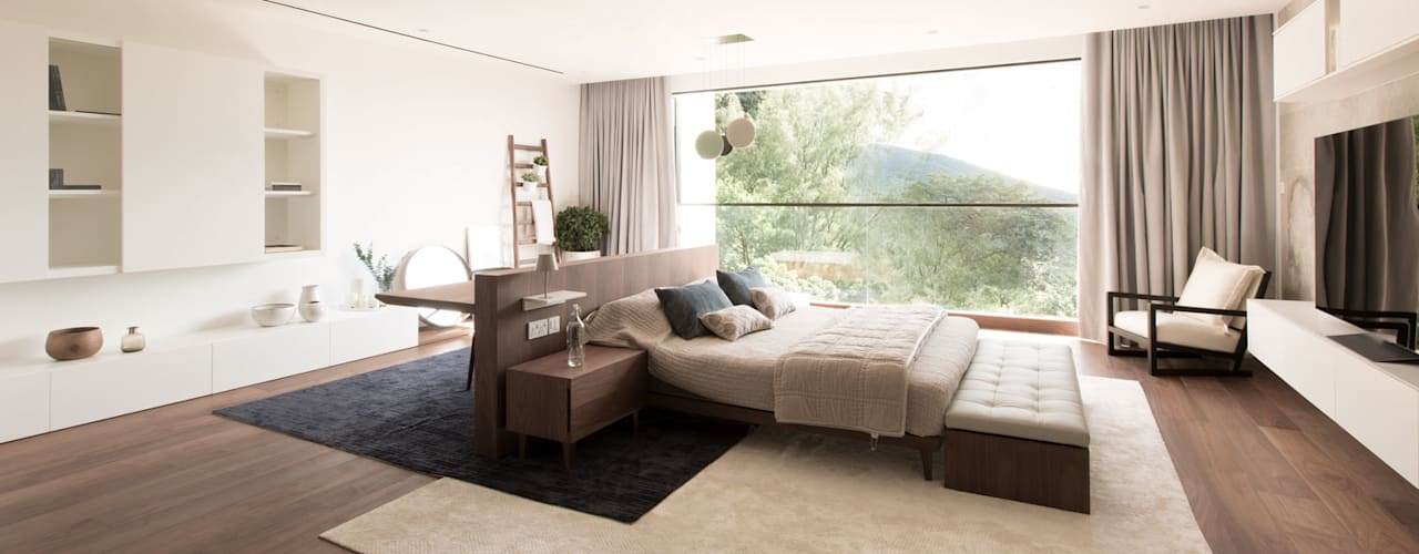 Aureus Modern style bedroom by Sensearchitects Limited Modern