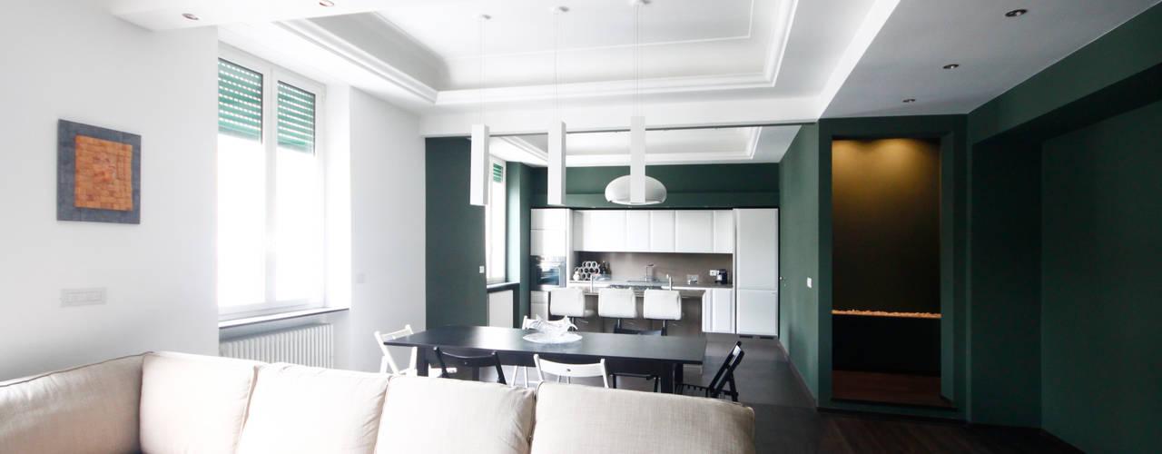 Salas de estilo minimalista de Andrea Orioli Minimalista