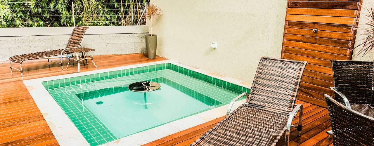 Spa de estilo  por Bianca Ferreira Arquitetura e Interiores
