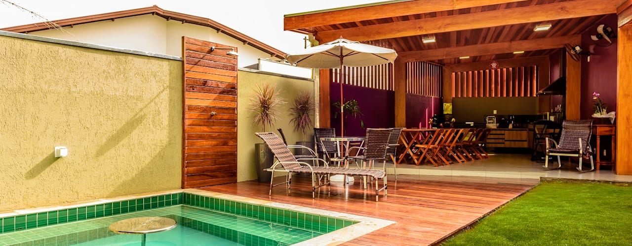 tropical Spa by Bianca Ferreira Arquitetura e Interiores