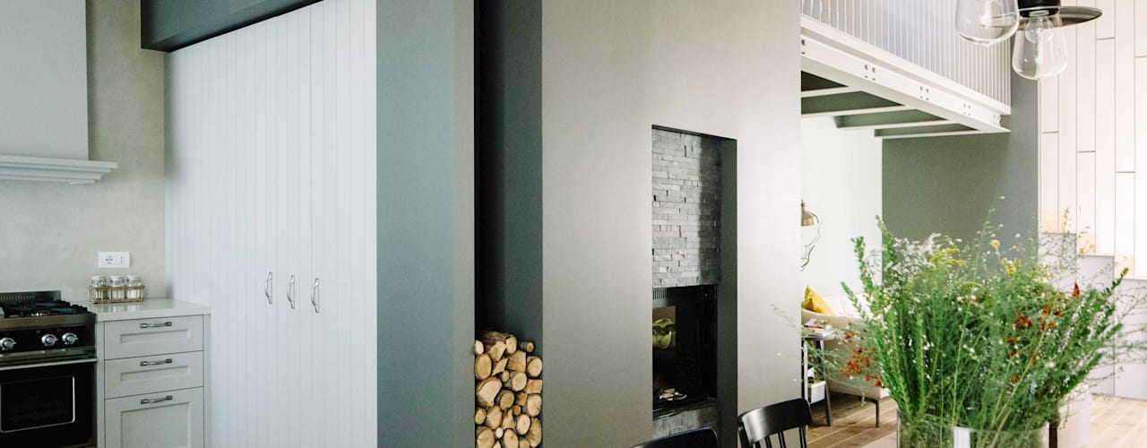 moderne Woonkamer door Studio Perini Architetture