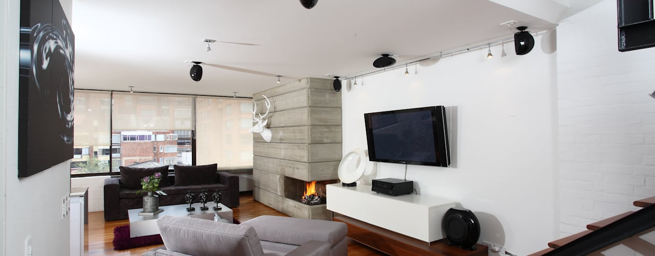 20 Ideal Tv Rooms For Modern Homes Homify