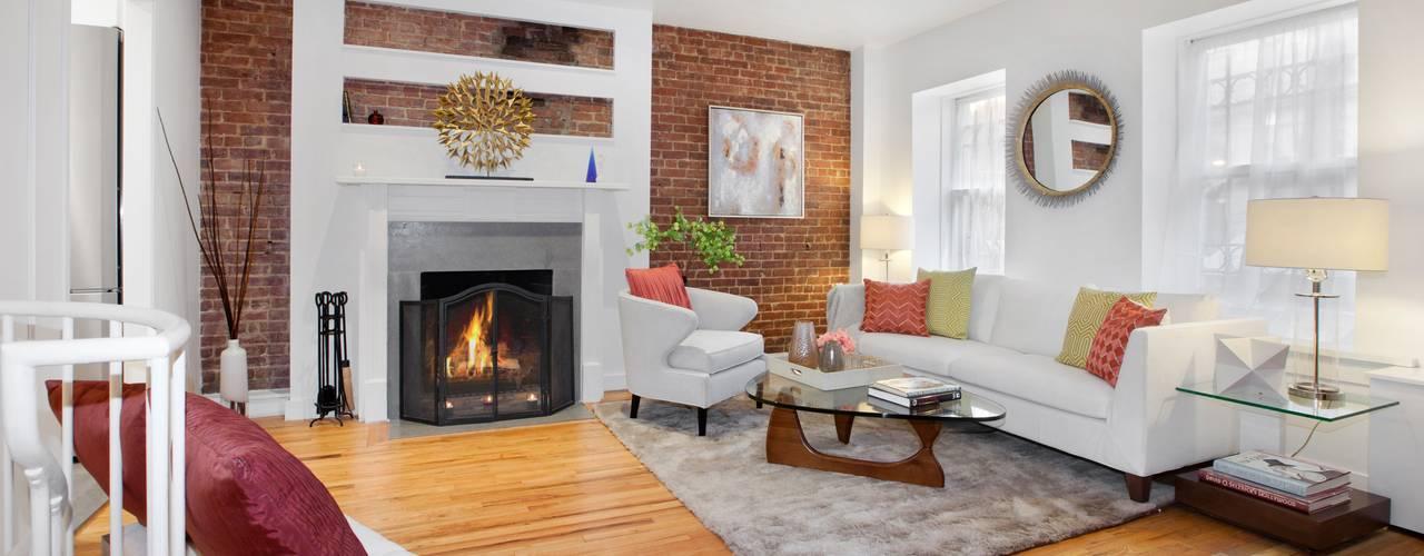 Modern living room by Atelier036 Modern