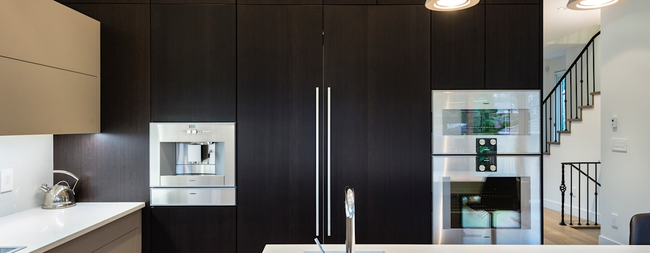 VANCOUVER - NEW CONSTRUCTION Modern kitchen by Alice D'Andrea Design Modern
