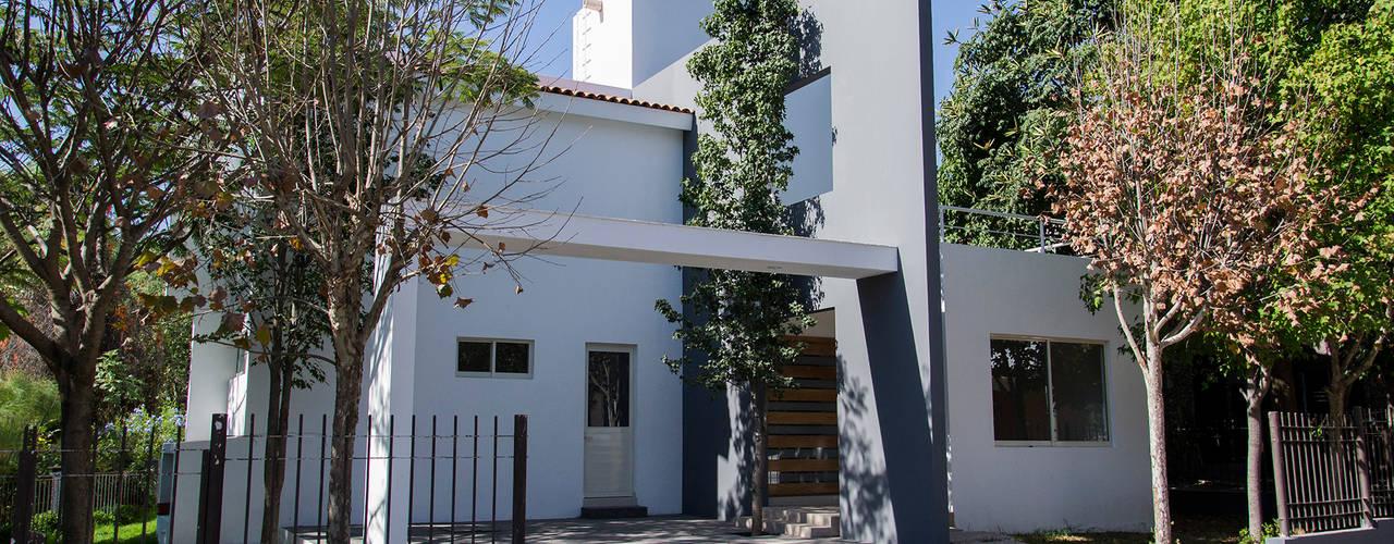 Excelencia en Diseño Casas modernas: Ideas, diseños y decoración Ladrillos Blanco