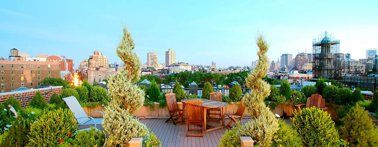 Amber Freda Home & Garden Taman Gaya Eklektik Green