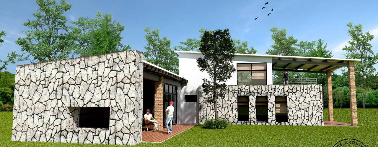 منازل تنفيذ Taro Arquitectos