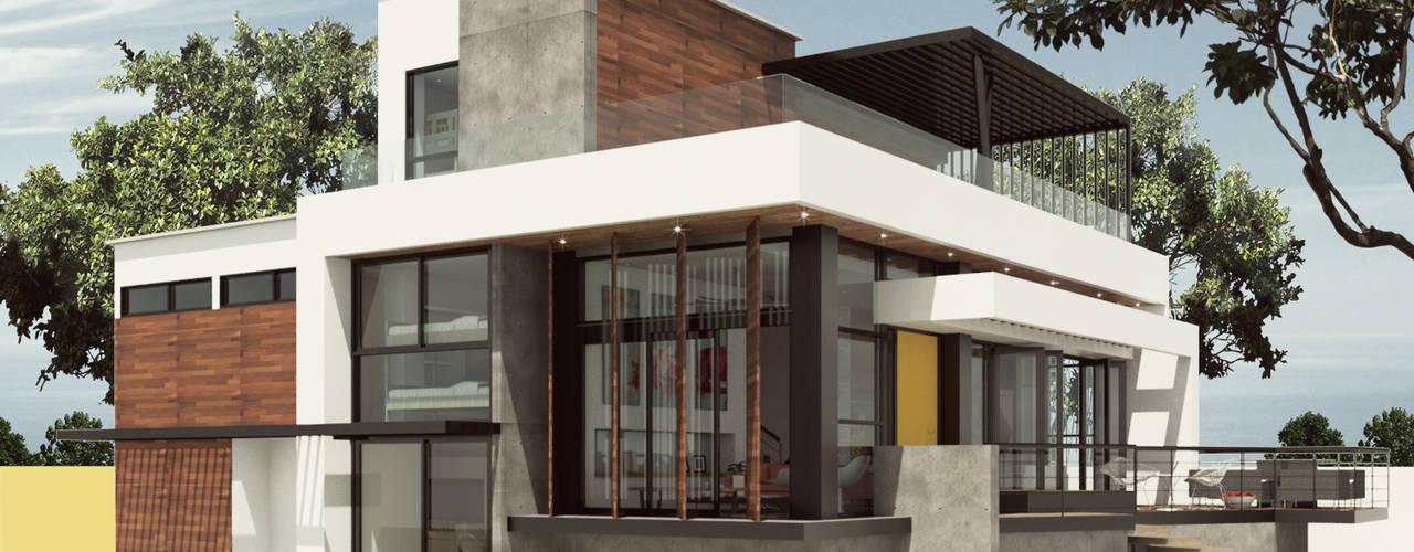 CASA IROTAMA Moderne Häuser von Cabas/Garzon Arquitectos Modern