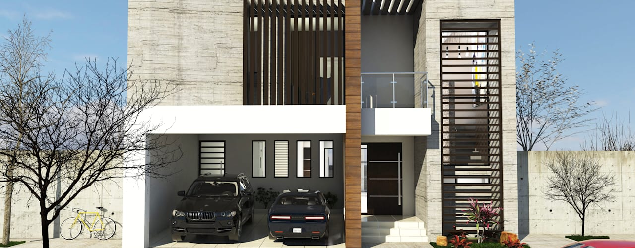Modern Houses by RJ Arquitectos Modern