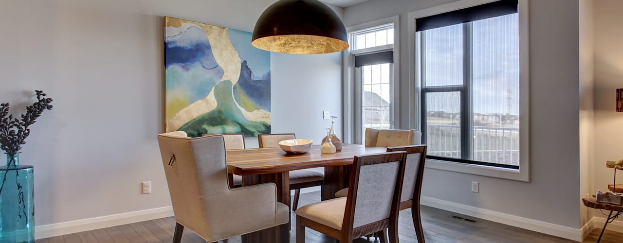 354 Sherwood Blvd:  Dining room by Sonata Design