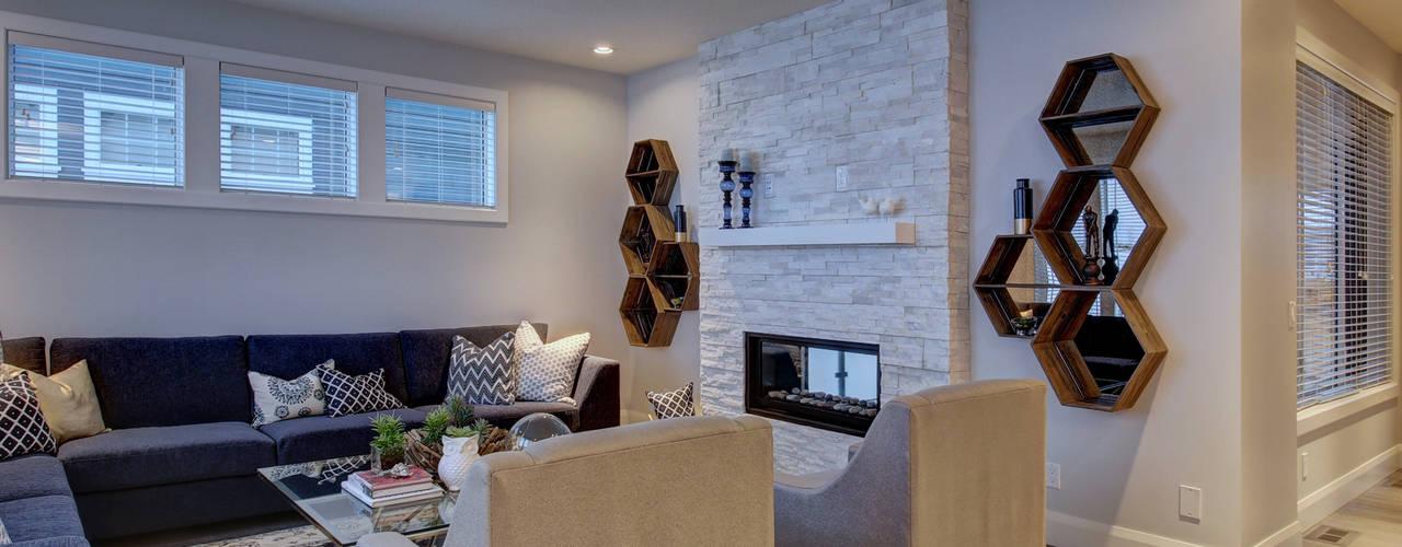 57 Paintbrush Park Modern living room by Sonata Design Modern
