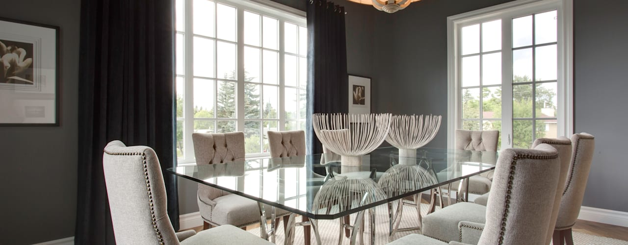 Modern dining room by Sonata Design Modern
