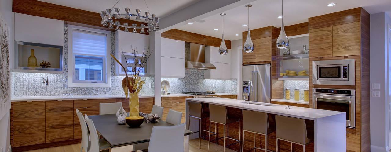 Cozinhas ecléticas por Sonata Design Eclético