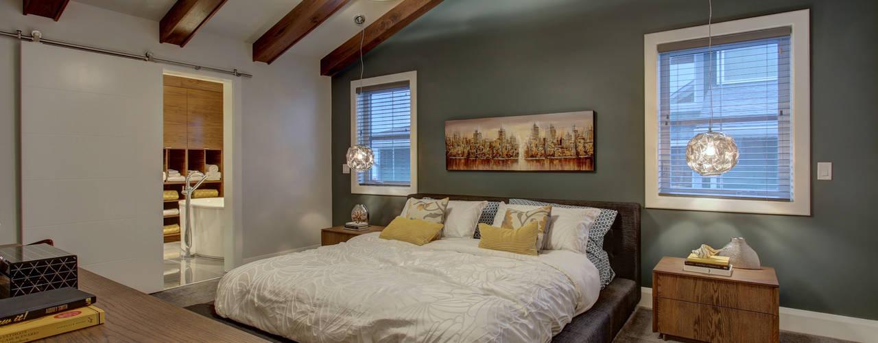 Projekty,  Sypialnia zaprojektowane przez Sonata Design