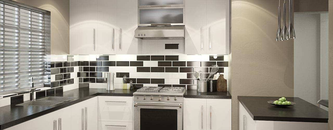 Residential French Lane:  Kitchen by HEID Interior Design, Modern