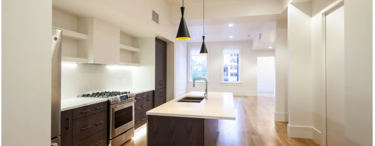 Natchez Street Mixed Use Structure, New Orleans: eclectic Kitchen by studioWTA