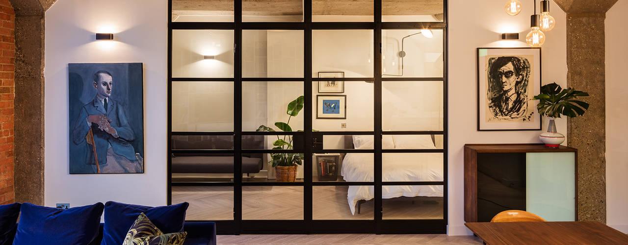 Old Street Loft Scandinavian style bedroom by Warret & Jullion Scandinavian