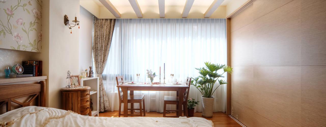 名昶室內設計が手掛けた寝室