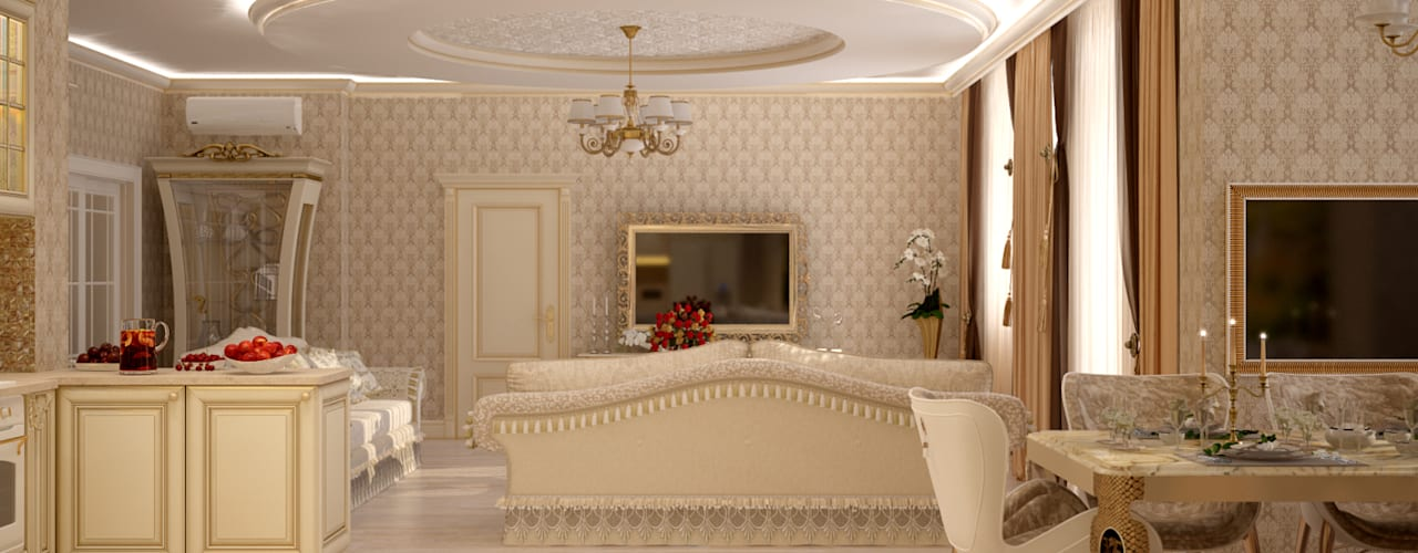 Dapur oleh Студия интерьерного дизайна happy.design, Klasik