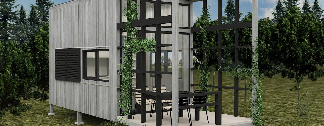 PRATIKIZ Mimarlık/ Architecture – Ağaç Ev:  tarz Evler