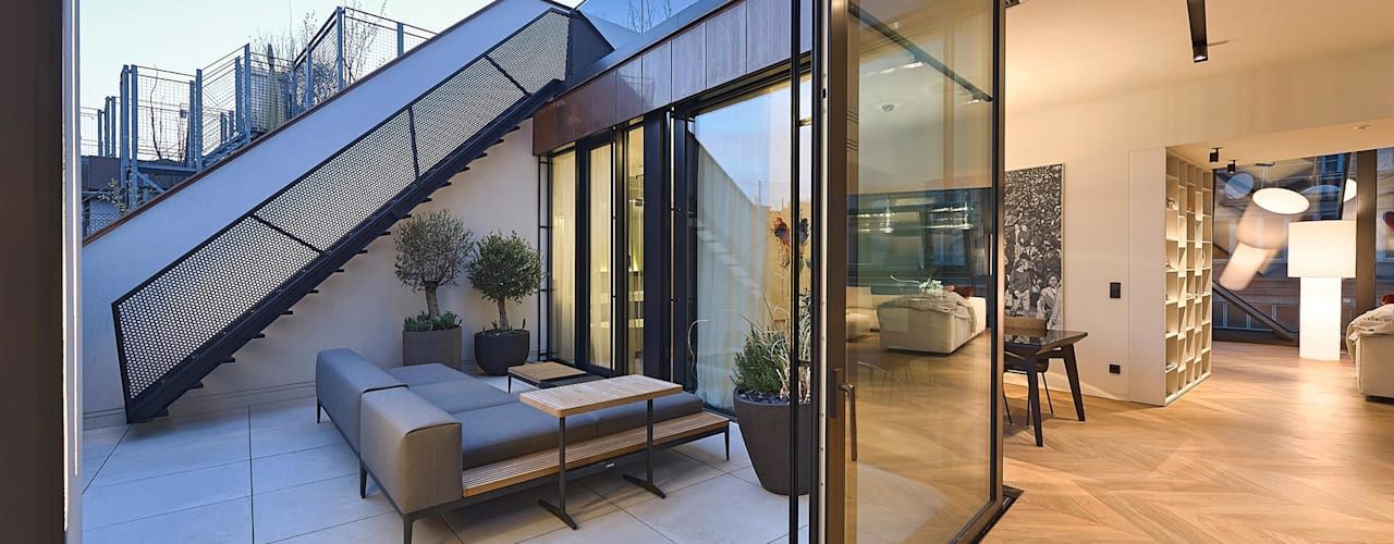 G 43/13 Moderner Balkon, Veranda & Terrasse von FADD Architects Modern