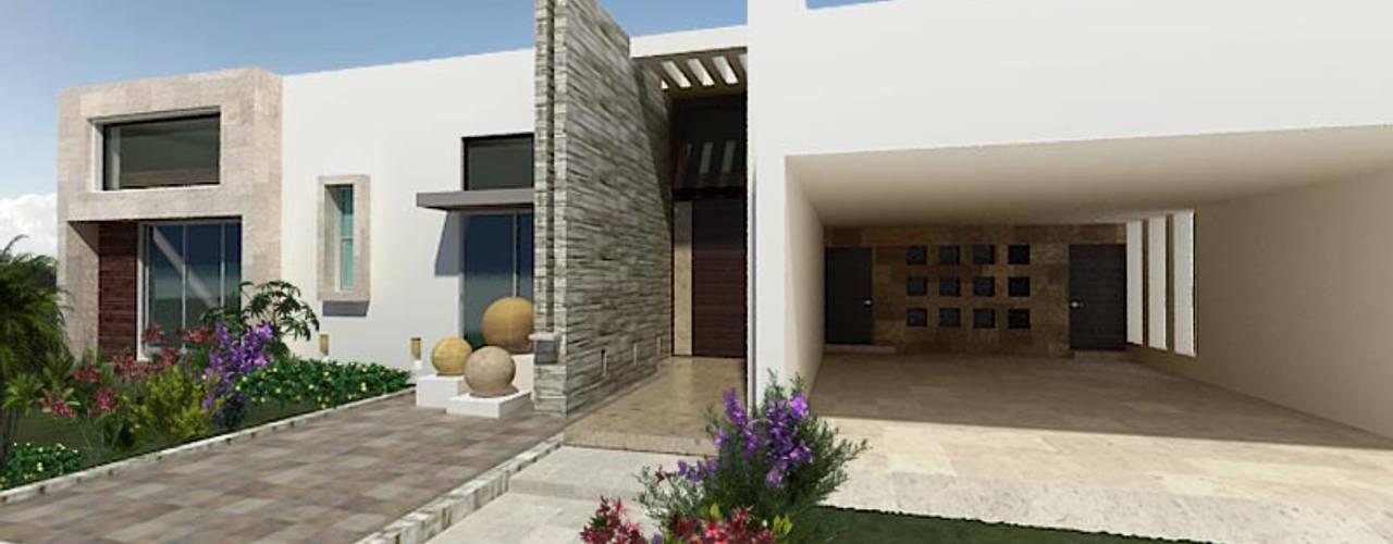 Casa El Molino Casas modernas de HF Arquitectura Moderno