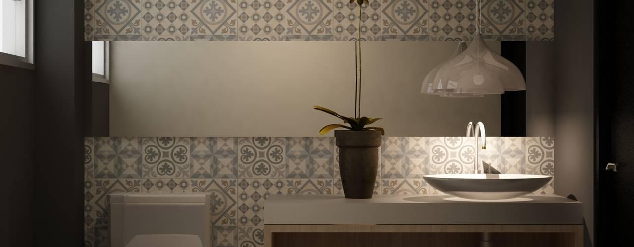 Badezimmer von santiago dussan architecture & Interior design