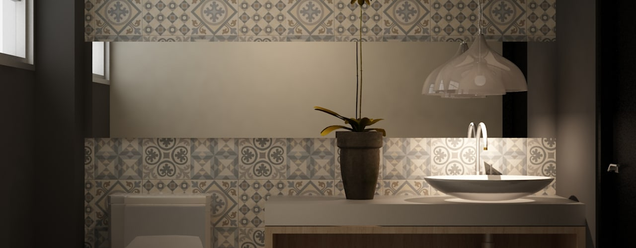 Bathroom by santiago dussan architecture & Interior design