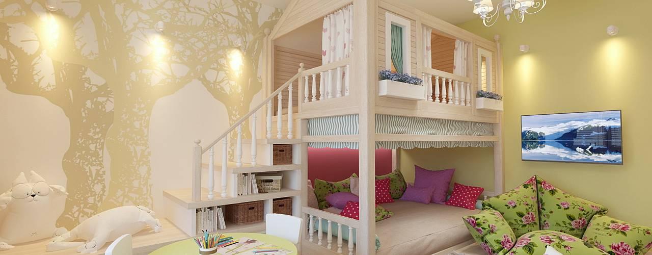 Modern Kid's Room by Студия интерьера Дениса Серова Modern