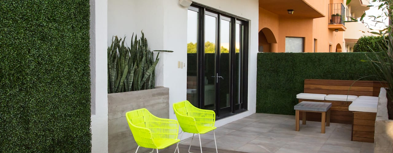 Modern style balcony, porch & terrace by TAMEN arquitectura Modern