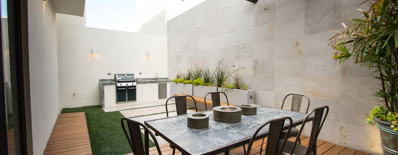Terrace by TAMEN arquitectura