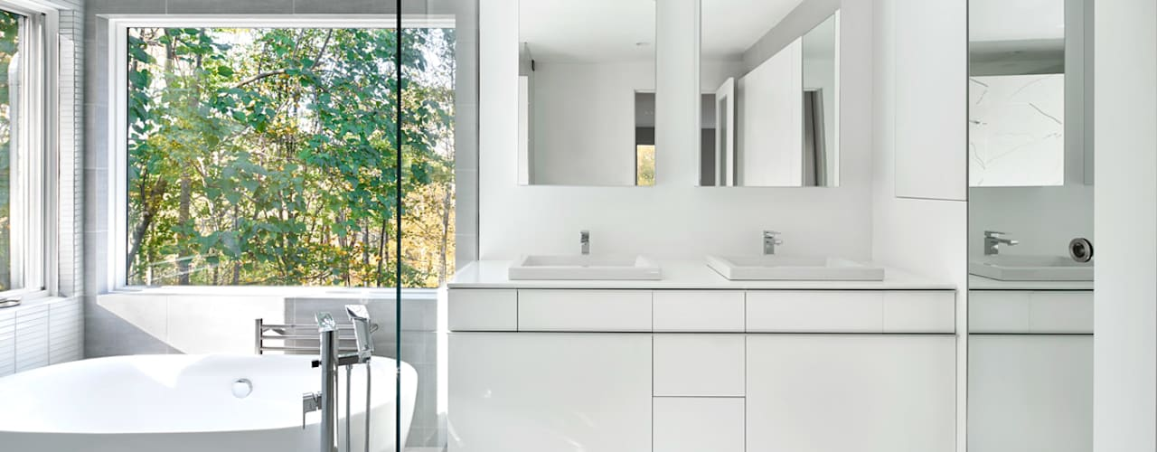 浴室 by KUBE Architecture